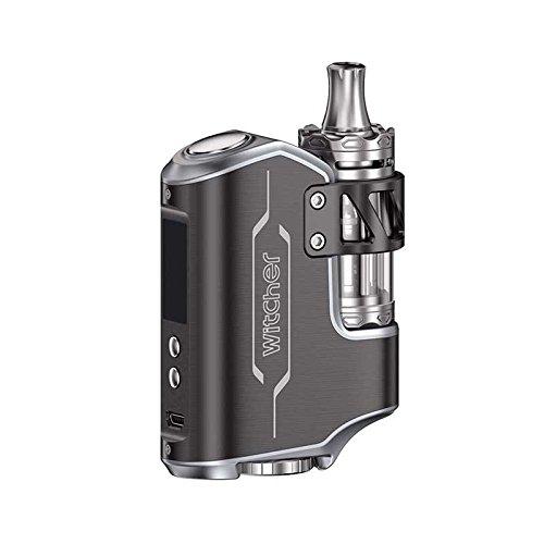 Elektronische Zigarette Witcher Temperaturkontrolle 75W E-Zigarette 18650 Kit, Enthält Kein Nikotin (Schwarz)