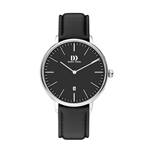 Danish Design Unisex Analogue Quartz Watch with Leather Strap IQ13Q1175