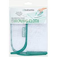 Brabantia 105487 - Paño de protección para Planchar Prendas delicadas, Color Blanco