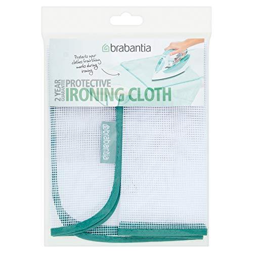 Brabantia 105487 panno per stirare i delicati, tessuto, bianco