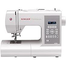 SINGER Confidence Automatic sewing machine Eléctrico - Máquina de coser (LCD, Eléctrico, El pie para ojales, Protectora, Automatic sewing machine, Costura, 1 paso)