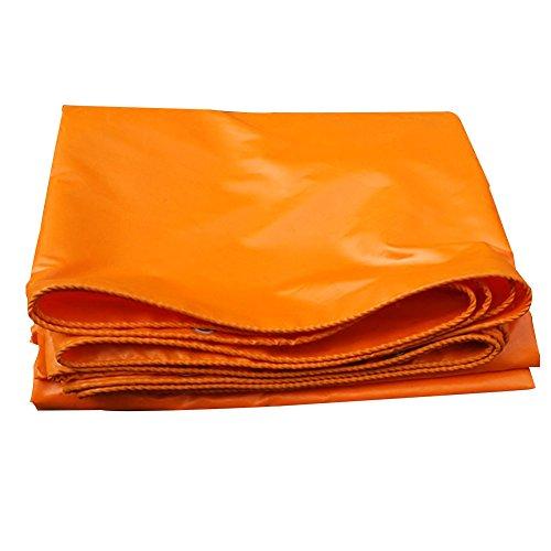 Preisvergleich Produktbild XJLG-Plane Regenfestes Tuch Plane,  orange Plane wasserdicht Picknick-Matte,  Sonnenmarkise staubdicht Markisenstoff Leinen Linoleum Zelt im Freien (Farbe : A,  größe : 2 x 3m)