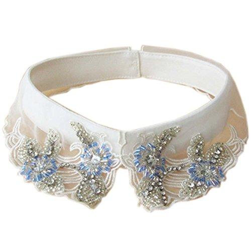Mode Bekleidung Zubehör Falsche Kragen abnehmbaren Hemd Pullover Kragen für Frauen, 10