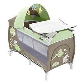CAM Il mondo del bambino L113/225 Lettino Daily Plus, Verde