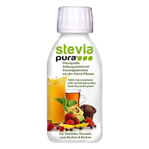 steviapura I Stevia flüssig Tafelsüße 150ml - OHNE FRUCTOSE - Natürlicher flüssiger Zuckerfreier Zuckerersatz ohne Kalorien