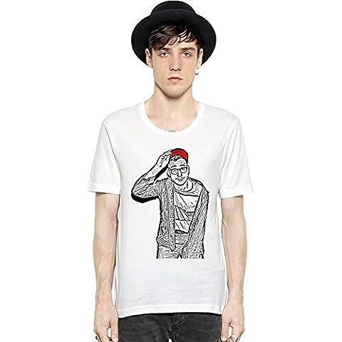 Jack Antonoff Illustration Manica corta da uomo T-shirt Men Short