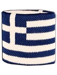 Digni® Poignet éponge avec drapeau Grèce
