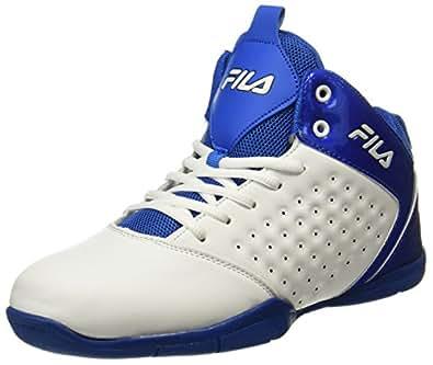 Fila Men's Elite 2 White Basketball Shoes-7 UK/India (41 EU)(11005606)