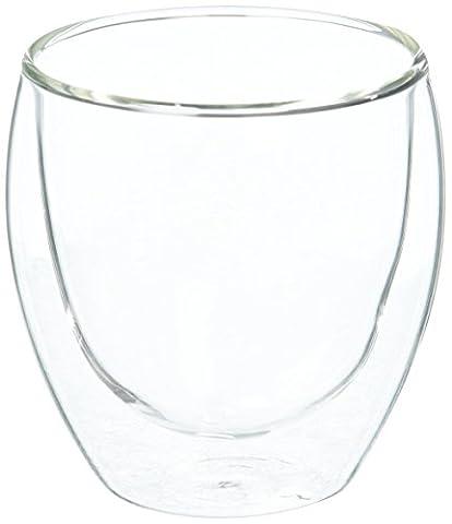 48h vente–Tasses à thé ou café en verre, double paroi, Isotherme, tasses à café 250ml–Lot de 4