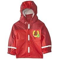 Playshoes Girls Waterproof Raincoat, Rain Jacket Horses