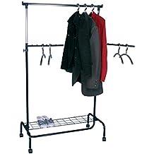 suchergebnis auf f r fahrbarer kleiderst nder mit ablage. Black Bedroom Furniture Sets. Home Design Ideas