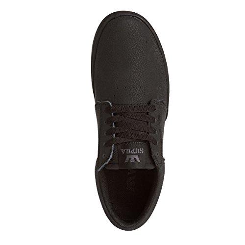 Supra Hammer, Sneakers Basses mixte adulte Noir (BLACK - BLACK BBB)