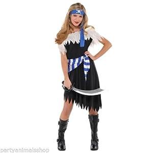 Christys London Disfraz de Belleza Pirata para niñas Adolescentes en Varias Tallas