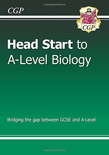 New Head Start to A-Level Biology por CGP Books