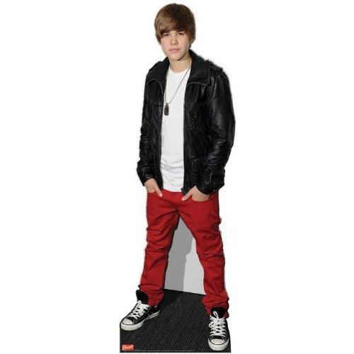 n Bieber Leder Jacke 169cms Aus Karton, Lebensgröße ()