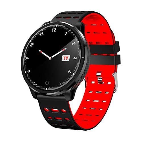Smart Bracelet Watch Bracelet / P17 Multifunktionssport Chronograph Schritte Schlaf Herzfrequenz Blutdruck Tracker Leben wasserdichte Smart Watch/Für iOS Android-Geräte und Anwendungen/Rot