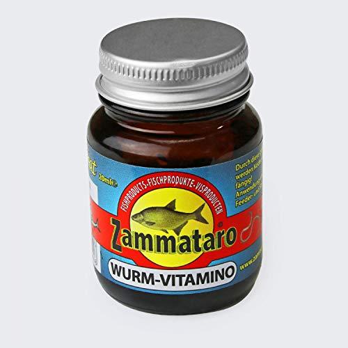 ZammataroFlüssiger Lockstoff Wurm Vitamino in Dippflasche 20ml -