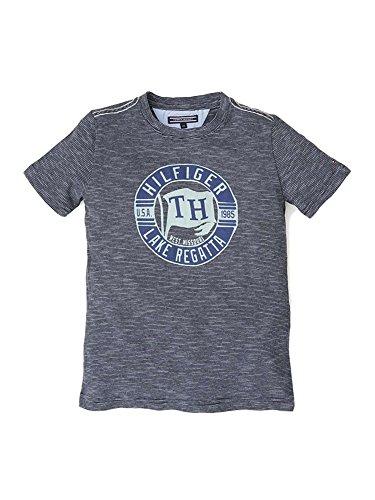 Tommy Hilfiger E557127290 ELMY T-Shirt Boy BLAU Navy 10Y (Boy Tommy Hilfiger Set)
