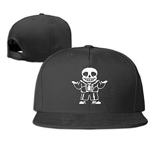 video-game-undertale-caracteres-sans-hombre-mujer-gorra-negro