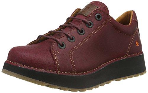 art HEATHROW, Chaussures à lacets femme - Rouge (Red) - 37 EU