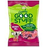 GOODY GOOD STUFF - Bonbons Gommeux Vegane Goût Fruits Rouges - Sans Gluten, Arôme et Colorants Artificiel - 100 gr