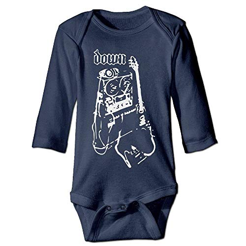 VTXWL Unisex Toddler Bodysuits Global Down Power of The Riff Baby Babysuit Long Sleeve Jumpsuit Sunsuit Outfit Navy - Power Divider