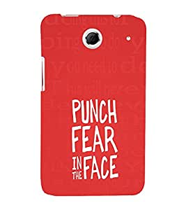 EPICCASE Punch Fear Mobile Back Case Cover For Lenovo S880 (Designer Case)