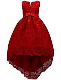 c466bfec4dc6f Niseng Filles Robe De Mariage Fille Princesse Demoiselle D Honneur Robe À  Queue D