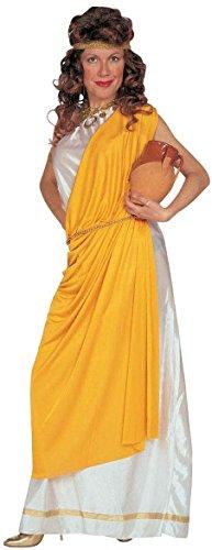 chsenenkostüm Römerin, Tunika mit Toga, Gürtel, Stirnband und Armband, Größe M (Toga Römische Kostüm)