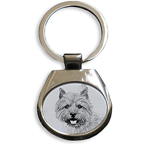 Norwich Terrier, Nuevos llaveros con perros de raza pura, regalo único, la sublimación