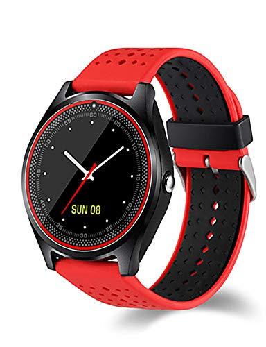 Hombres Reloj Deportivo Reloj Digital Reloj Militar Inteligente Lleno de Cuero Multicolor 30m Impermeable...