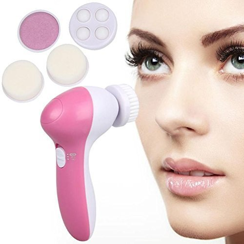 ISABELLA Smoothing Body Face Beauty Care Facial Massager 5-In-1 By , Color May Vary