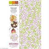 ScrapCooking - Transfer per decorazione dolci, cioccolatini, biscotti, pasta di zucchero, motivi assortiti