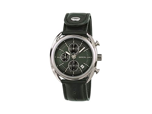 Breil orologio cronografo quarzo uomo con cinturino in pelle tw1515