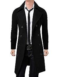 Suchergebnis auf f r langer schwarzer mantel for Schwarzer wollmantel