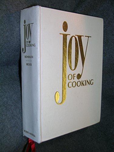 Joy of Cooking by Irma Von Starkloff Rombauer (1975-05-01)