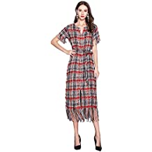 56c4768253d80 SONGYL Mujer Vestido Largo Fiesta Boda Dama De Honor Novia Retro Traje  Mujeres Vestidos V-