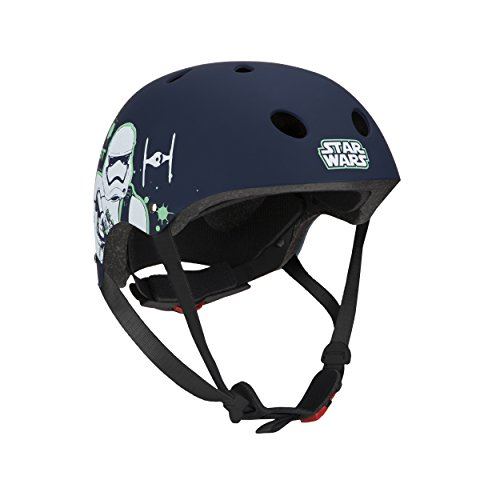 Disney Kinder Skate helmet STAR WARS STORMTROOPER STAR WARS 1, Mehrfarbig, - Disney Helm
