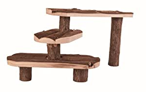 Trixie 6214 Natural Living Stairs for Small Animals 38 × 24 cm
