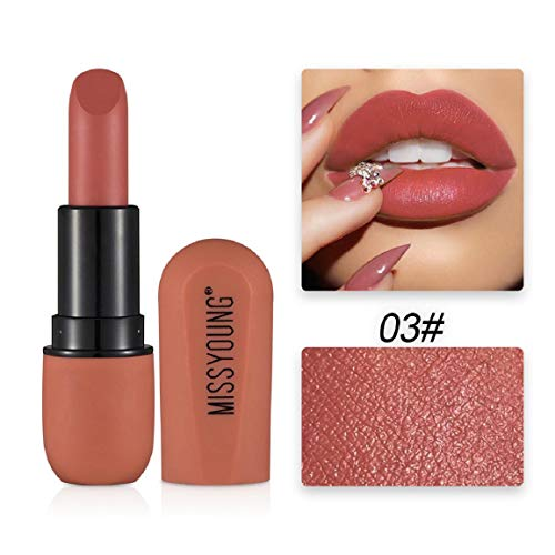 Vaycally Matte Lipstick Befeuchtet samtigen Lipgloss Gelee-Lippenstift, Lip Plumping Balm Plumper Lipgloss-Behandlung Klare Lip Plump Gloss- Enhancer Hydrated Lips - Lip Plumping Gel
