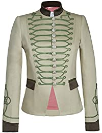 Chaqueta Blazer de Mujer Estilo Militar Beige Detalles Kaki 100% Hecha en  España Edicion Limitada d3b7d0aeaf083