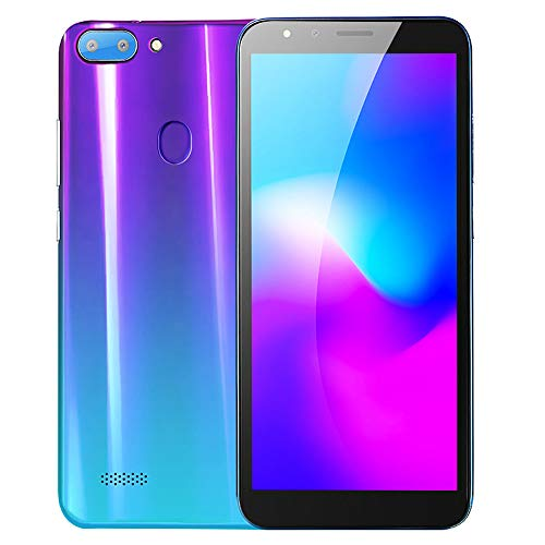Smartphone 5.5''Ultrathin Android5.1 Octa-Core 512MB 4G 3G / GSM-WLAN-Dual-SIM-SIM-SIM-PORTALENT (Lila)