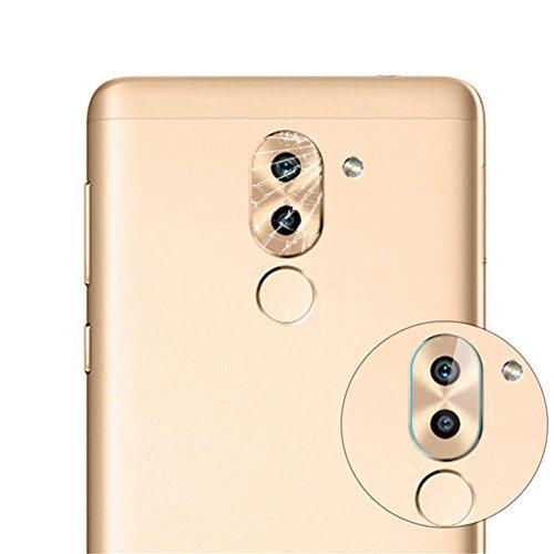 Preisvergleich Produktbild Interesting® 10 Stück 8H Back Kamera Linse gehärtetes Glas Beschützer Film für Huawei Ehre 6X