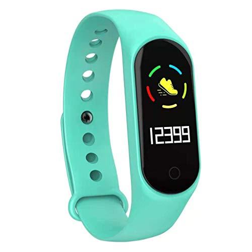 Pulsera Inteligente de la Venda del Color M4,Reloj Deportivo con GPS Podómetro, Monitor de Ritmo, Calorías...