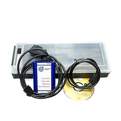 Katurn Dice Pro 2014D Version Diagnosescanner, Hochwertiger Super Voller Chip Für Volvo Update Und Selbsttest Update-chip