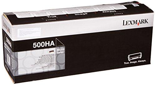 Preisvergleich Produktbild LEXMARK 500HA Toner schwarz Standardkapazität 5.000 Seiten 1er-Pack