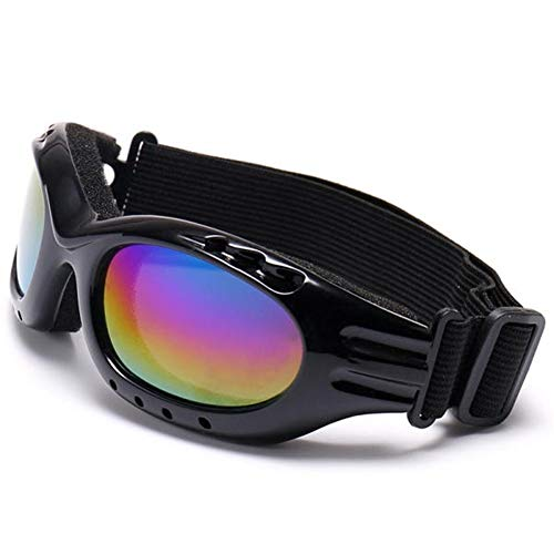 Boyce Wyclif(fe) Motocross Goggles Vollrand Skifahren Skate Brille Outdoor Brille Klettern Radfahren Sonnenbrillen Brillengläser Für Outdoor Sport (Farbe : Colorful)