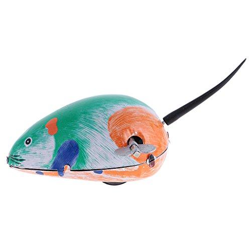 Blesiya Wind-up Maus Tierfigur Uhrwerk Spielzeug Geschenk für Kinder