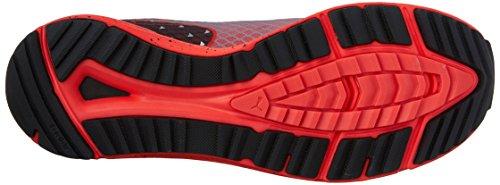Puma Speed 300 Tr Ignite Synthétique Baskets Red Blast-Black-Silver