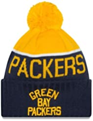 Green Bay Packers Classique ACME Throwback Style Sport Knit Beanie Casquette Chapeau New Era
